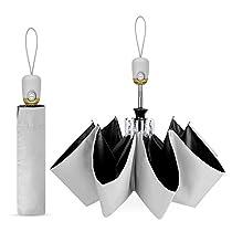 【最新版】日傘 折りたたみ傘 ワンタッチ自動開閉 UVカット 遮光...