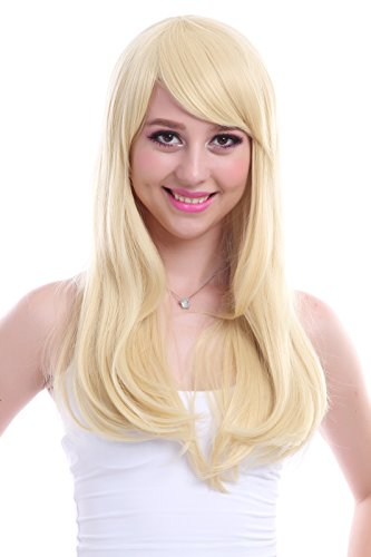 ROLECOS Womens Long Straight Party Wigs Synthetic Hair Wig