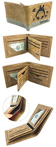 YOYOSHome Japanese Anime Cosplay Short Purse Wallet Clip Billfold (My Neighbor Totoro 2) by YOYOSHome (Image #2)