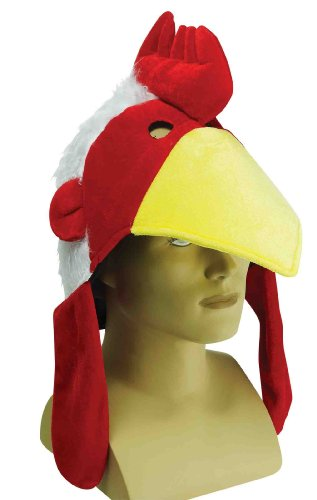 Chicken Hat (Adult Rooster Costume)