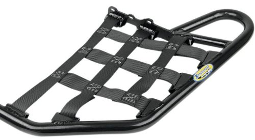 Motoworks Replacement EZ-FIT Nerf Bar Nets - Black (Nerf Bars Black Nets)