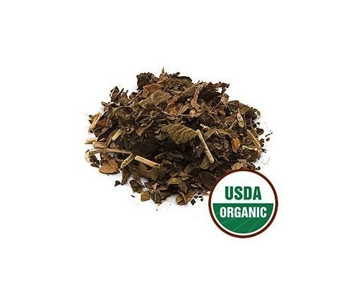 USDA Certified Organic Dried Patchouli Leaf Pogostemon Cablin Cut Sifted 1oz