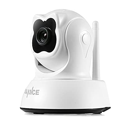WiFi IP Camera Home Security Camera 720P Night Vision Infrared Two Way Audio 1.0MP Baby Camera Monitor Cute Wireless Cam