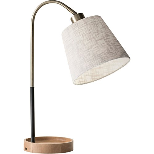 Adesso Round Table Lamp - Adesso 3407-21 Jeffrey Table Lamp