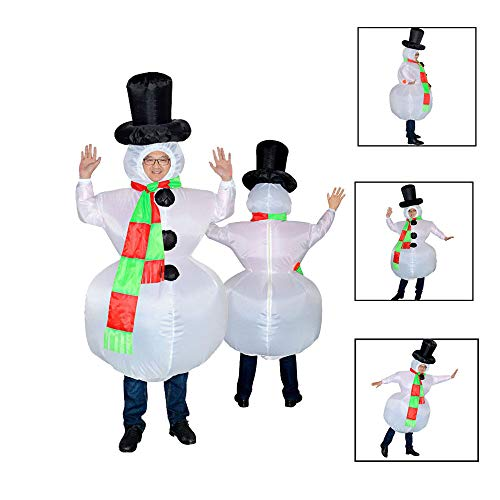 Gift Idea Party Uniforms Inflatable Inflatable Carnival Costumes Christmas Snowm Cosplay