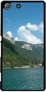 Funda para Sony Xperia M5 - El Lago Annecy 2 by Cadellin