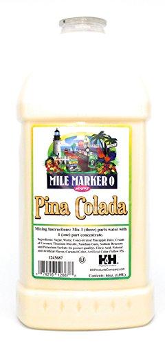 Pina Colada Mix - Mile Marker 0 - Commercial Grade Drink Mixer 64 Oz