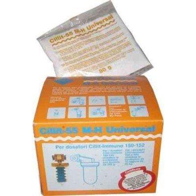 Recharge Cillit 55 M-H 12 sachets de 80 grammes pour doseur Immuno 10048 CILLICHEMIE CILLIT 55 M-H 12 BUSTINE DA 80 GRAMMI