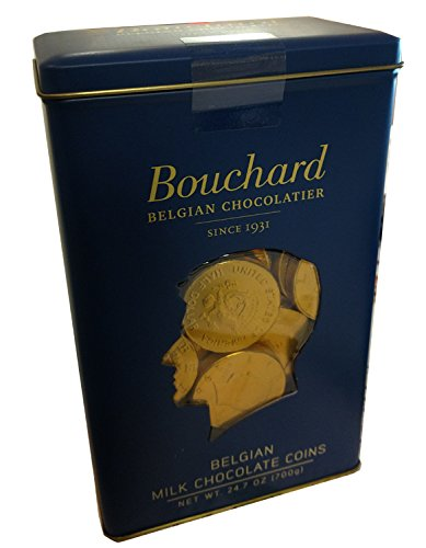 Bouchard Belgian Chocolate Milk Chocolate coins 24.7 oz
