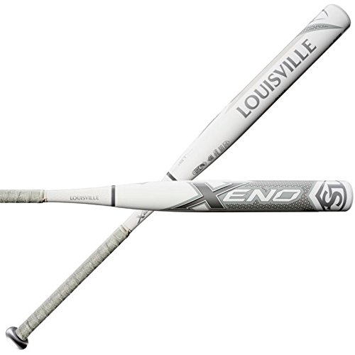 Louisville Slugger Xeno Platinum Limited Edition (-10) Fastpitch Softball Bat...
