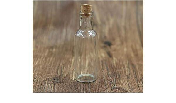 ABULDAHI - Botella para decoración (100 Unidades, 12 ml, 15 ml, 25 ...