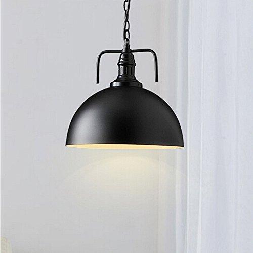 WINSOON 30cm Industrial Metal Pendant Light Antique Style