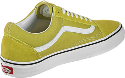 Canvas True Suede Classic Adulto White Skool Sneaker Green Unisex Vans Old Cress q1pTncTF