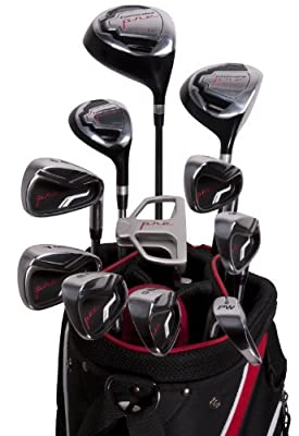 Pinemeadow Pre 16-Piece Men's Complete Golf Set by Pinemeadow Golf
