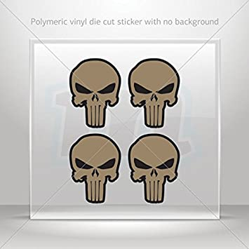Decals decal nomad typhon flat dark earth raid white punisher atv weat 4 x 2 96