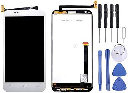 Repuestos para Smartphones ASUS Pantalla LCD + reemplazo del Conjunto del digitalizador de Panel táctil for ASUS PadFone 2 / A68 (Negro) (Color : Blanco): Amazon.es: Electrónica