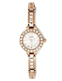 GUESS Factory Women's Rose Gold-Tone Petite Watch
