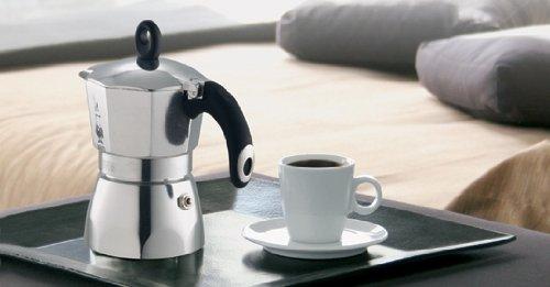 Bialetti 2153 Dama Nuova Espresso Maker, Silver