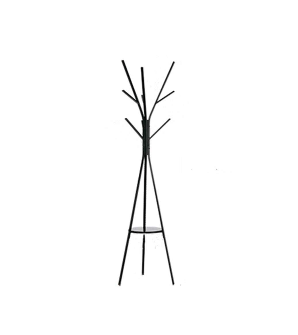 Bjzxz Bedroom Hangers Drop Subway Art Metal Simple Modern Branches Home Creative Coat Rack Shelf
