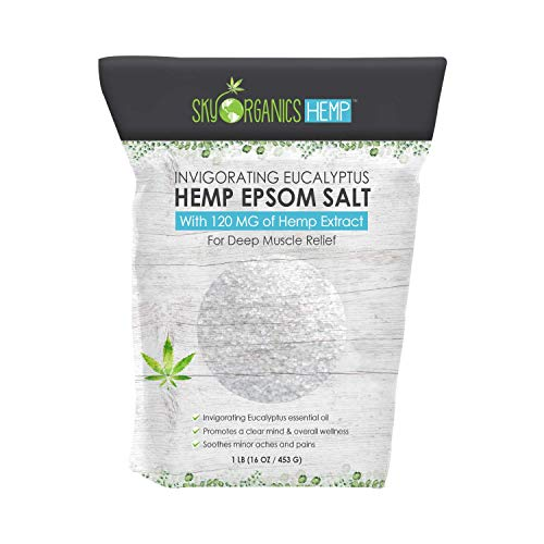 Hemp-Extract-Serenity-Epsom-Salt-Pouch-Invigorating-Eucalyptus-Pack-of-1