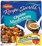 LIPTON RECIPE SECRETS DRY SOUP MIX ONION MUSHROOM 2 CT PER BOX