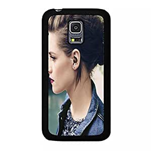 Well Defined Kristen Stewart Phone Case Cover For Samsung Galaxy S5 Mini Profile Of Kristen Stewart