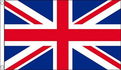 Giant 8ft x 5ft British Union Jack Flag (8 Foot British Flag compare prices)
