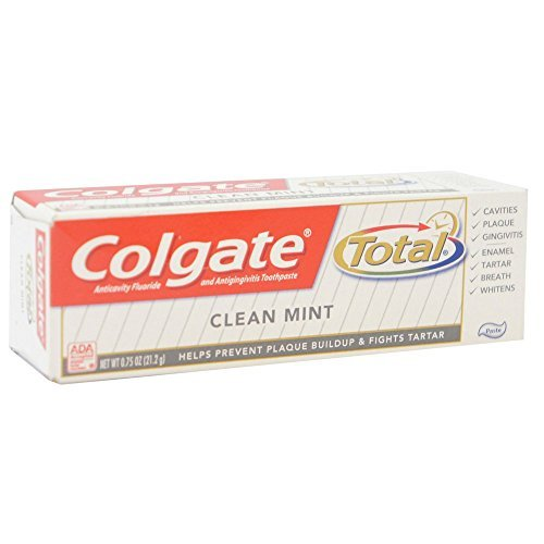 Price comparison product image Colgate Clean Mint Travel Size,  0.75 Ounce (Pack of 12)