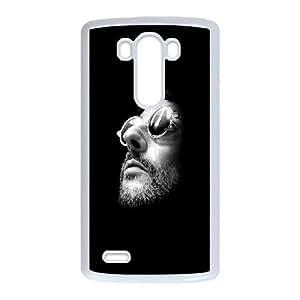 LG G3 Cell Phone Case White Leon G4R7HY