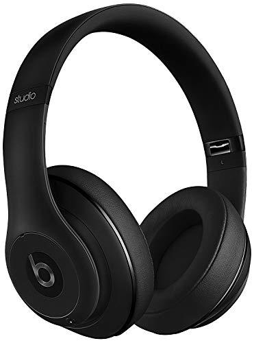(Beats Studio3 Wireless Headphones - Matte Black (Renewed))