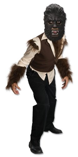 The Wolfman Movie, Child's Wolfman Costume,Large (Scary Girl Costumes Child)