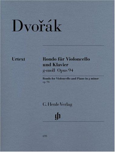 Rondo G-Moll Op 94. Violoncello, Klavier