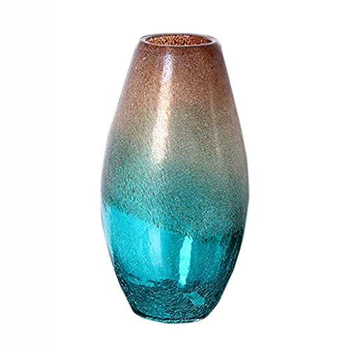 Vases Container Glass Jewelry Gift Decoration High-end Creative Color Artificial Blowing Crafts Decoration Flower Arrangement Water Culture Rich Bamboo