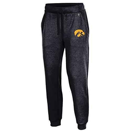 Iowa Hawkeye Gear (NCAA Iowa Hawkeyes Adult Women NCAA Women's Cool Down Pant,Medium,black)