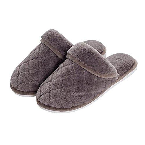 Wollen Pantoffels Van Alle Pluche, Comfortabele Huispantoffels, Antislip, Zachtheid En Badstof 016 Bruin