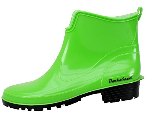 Saskia Boots Rubber Light Womens Bockstiegel Green HBqwxSSA