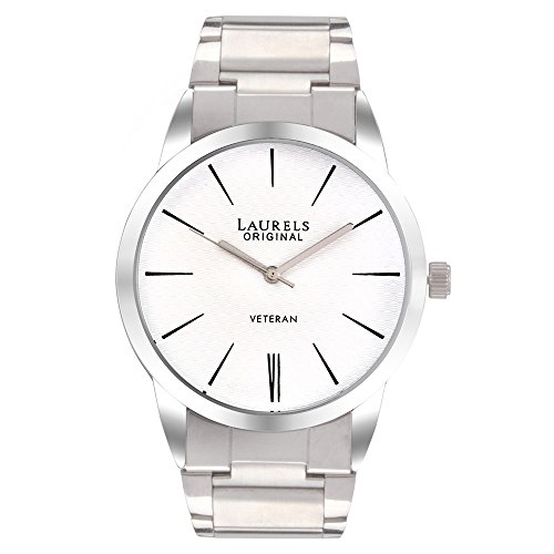 Laurels Polo 1 Analog White Dial Men's Watch ( Lo-Polo-101)