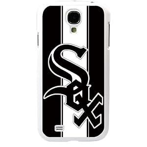 MLB Major League Baseball Chicago White Sox Samsung Galaxy S4 SIV I9500 TPU Soft Black or White case (White)