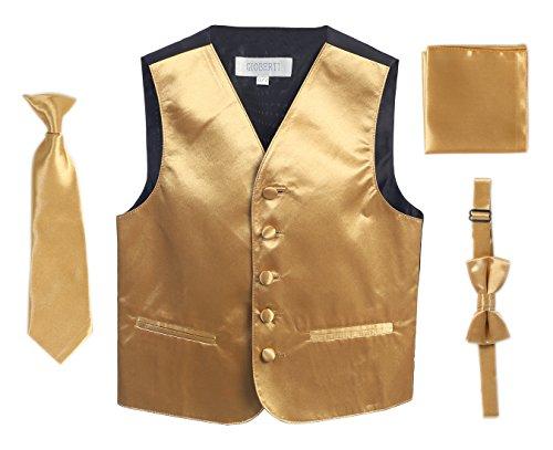 Gioberti Boys 4pc Formal Vest product image