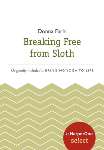 Breaking Free from Sloth: A HarperOne Select (HarperOne Selects)