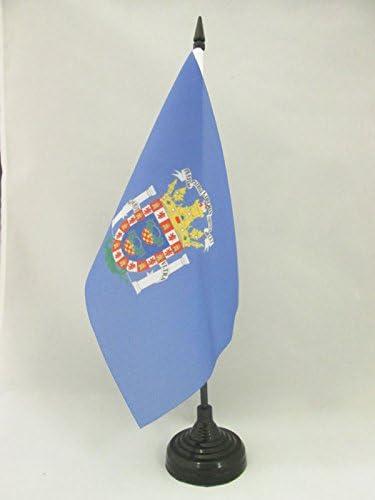 AZ FLAG Bandera de Mesa de Melilla 21x14cm - BANDERINA de DESPACHO ESPAÑOLA - ESPAÑA 14 x 21 cm: Amazon.es: Jardín