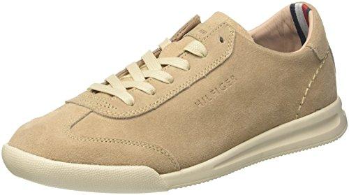Low Sneaker Hilfiger Casual 102 Tommy Cut Suede Homme Sand Sneakers Basses Beige Twpa41R