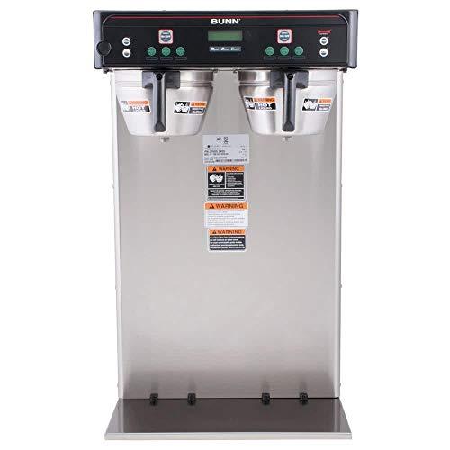 Bunn 37600.0011 BrewWISE ICB-Twin Tall Dual Infusion Series Coffee Brewer 120/240V