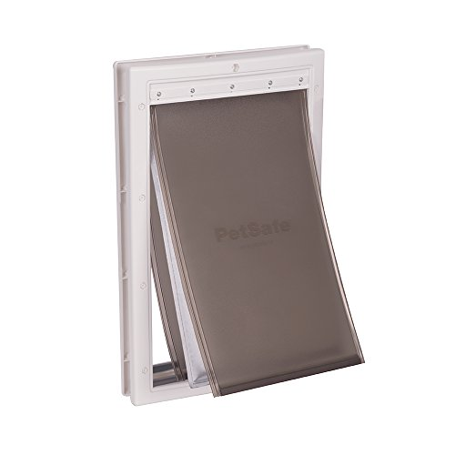 PetSafe Extreme Weather Pet Door, Energy Efficient Pet Door for Dogs and Cats, Large, for Pets Up to 100 Lb. ()