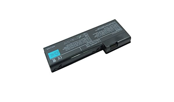Amazon.com: Laptop Battery for Toshiba Satellite P105-S6124, 9 cells 6600mAh Black: Computers & Accessories