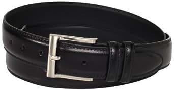 Florsheim Men's Big-Tall Pebble Grain Leather Belt 32MM, Black, 46
