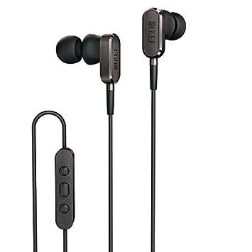 kef headphones. kef m100 in-ear hi-fi headphones - titanium grey kef