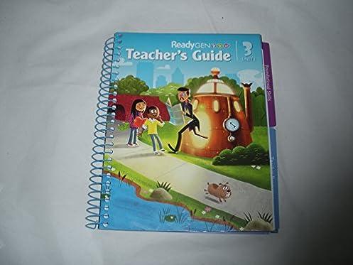 readygen teacher s guide unit 1 grade 3 elfrieda h hiebert p rh amazon com ReadyGEN Reading Program ReadyGEN Reading Program