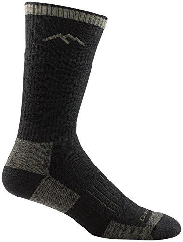 Darn Tough Vermont Men's Hunter Boot Cushion Socks, Charcoal, L