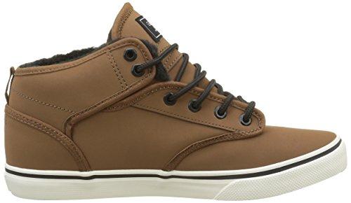 GlobeMotley Mid - zapatillas deportivas altas Unisex adulto Marron (16260)